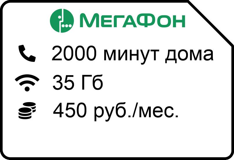 Federalnyj domashnij 450 - Мегафон